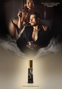 Постер Siordia Parfums Coffee and Sigarettes