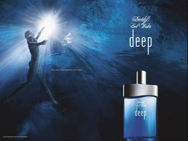 Постер Davidoff Cool Water Deep