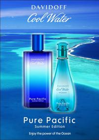 Постер Davidoff Cool Water Pure Pacific