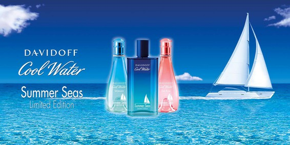 Постер Davidoff Cool Water Woman Sea Rose Summer Seas