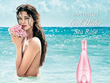 Постер Davidoff Cool Water Woman Sea Rose