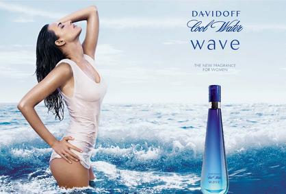 Постер Davidoff Cool Water Woman Wave