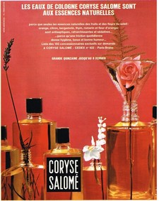 Постер Coryse Salome Eau De Lavande