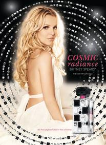 Постер Britney Spears Cosmic Radiance