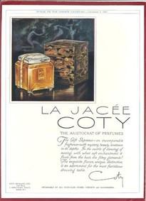 Постер Coty La Jacee