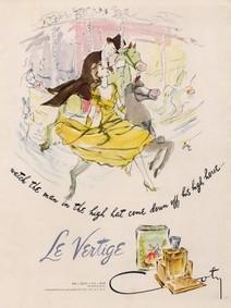 Постер Coty Le Vertige