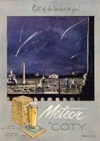 Постер Coty Meteor