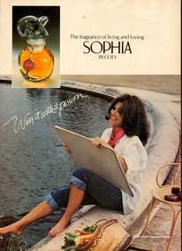 Постер Coty Sophia (perfume)