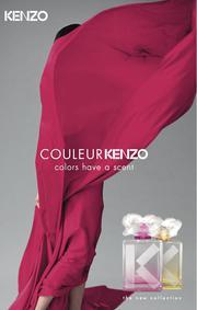 Постер Couleur Kenzo Rose-pink