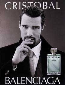 Постер Balenciaga Cristobal pour Homme