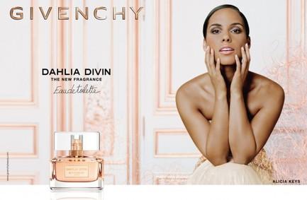 Постер Givenchy Dahlia Divin Eau de Toilette