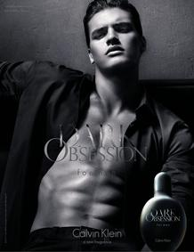 Постер Calvin Klein Dark Obsession