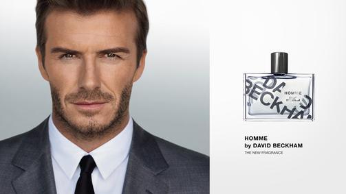 Постер David Beckham Homme