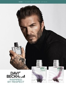 Постер David Beckham Inspired By Respect