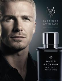 Постер David Beckham Instinct After Dark