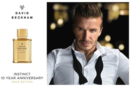 Постер David Beckham Instinct Gold Edition
