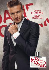 Постер David Beckham Urban Homme