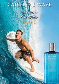 Постер Davidoff Cool Water Wave