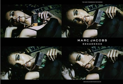 Постер Marc Jacobs Decadence