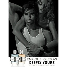 Постер Enrique Iglesias Deeply Yours For Him