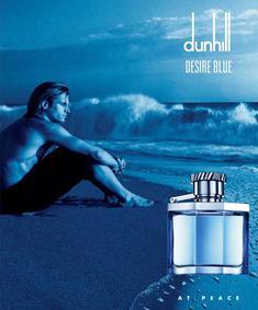 Постер Alfred Dunhill Desire Blue