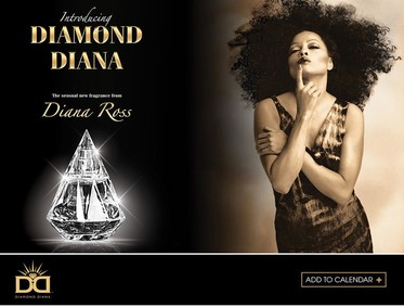 Постер Diana Ross Diamond Diana