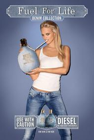 Постер Diesel Fuel for Life Femme Denim Collection