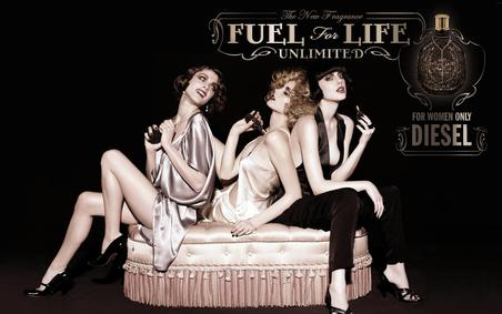 Постер Diesel Fuel for Life Femme Unlimited