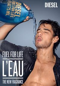 Постер Diesel Fuel for Life Homme L'Eau