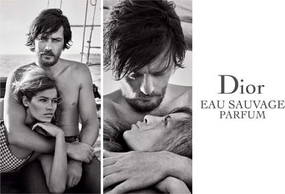 Постер Dior Eau Sauvage Parfum 2017