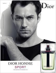 Постер Dior Homme Sport 2012