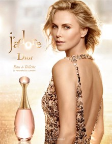 Постер Dior J'adore Lumiere Eau de Toilette