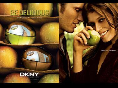 Постер Donna Karan DKNY Be Delicious