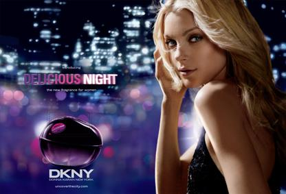 Постер Donna Karan DKNY Be Delicious Night