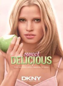 Постер Donna Karan DKNY Be Delicious Sweet Delicious Pink Macaron