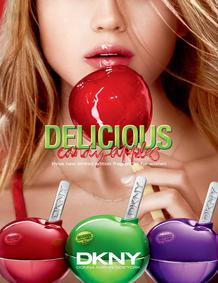 Постер Donna Karan DKNY Delicious Candy Apples : Juicy Berry