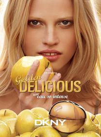 Постер Donna Karan Dkny Golden Delicious Eau So Intense