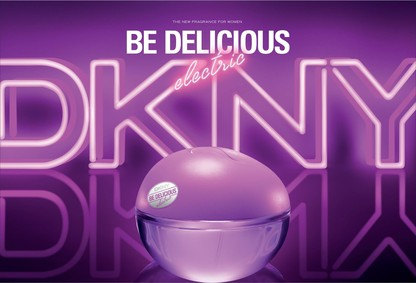 Постер Donna Karan DKNY Be Delicious Electric Vivid Orchid