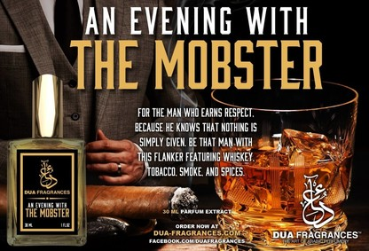 Постер Dua Fragrances An Evening With The Mobster