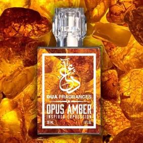 Постер Dua Fragrances Opus Amber