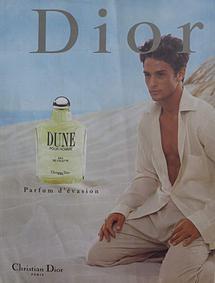 Постер Dior Dune pour Homme