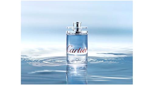 Постер Eau de Cartier Vetiver Bleu