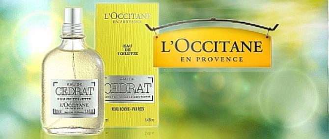 Постер L`Occitane Eau de Cedrat