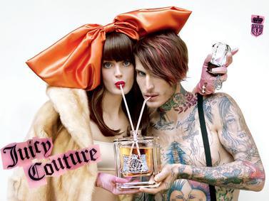 Постер Juicy Couture Eau de Couture