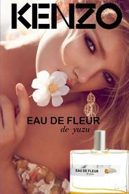 Постер Kenzo Eau De Fleur De Yuzu