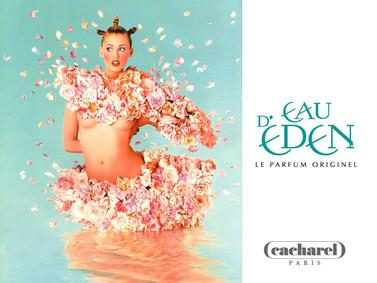 Постер Cacharel Eau d'Eden