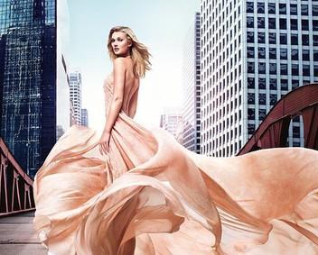 Постер Elie Saab Le Parfum Rose Couture
