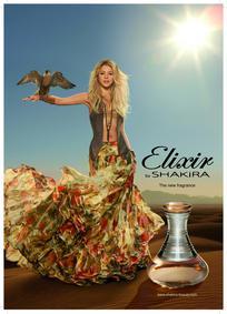 Постер Shakira Elixir