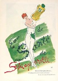 Постер Elsa Schiaparelli Eau De Santé