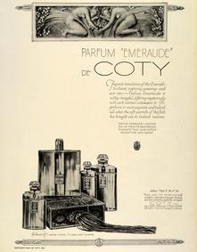 Постер Coty Emeraude